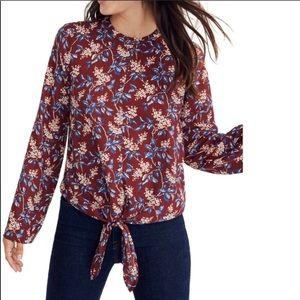 🍂 Madewell bell sleeve blouse